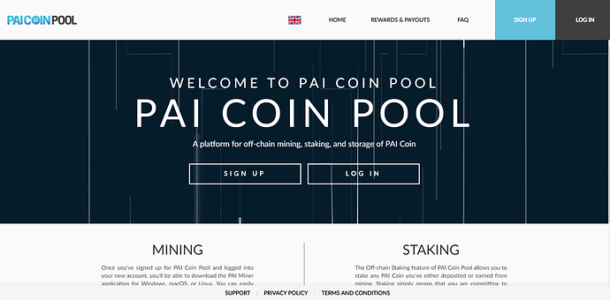 PAI Coin Pool Screencap